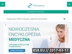 Miniaturka pharmateca.pl (Pharmateca - baza leków)