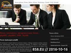 Miniaturka phpbb-assistant.com (Usługi informatyczne i budowa stron internetowych)