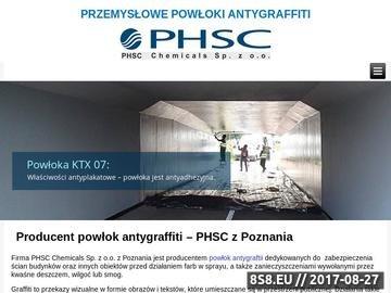 Zrzut strony Czyszczenie chemiczne PHSC