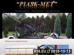 Miniaturka domeny www.piaskmet.pl