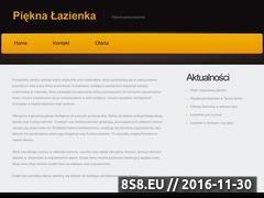 Miniaturka domeny pieknalazienka.com.pl
