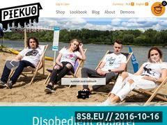 Miniaturka www.piekuo.com (Sklep internetowy z koszulkami i bluzami)