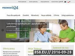 Miniaturka domeny pielegniarki.promedica24.pl