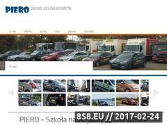 Miniaturka www.piero.com.pl (OSK Warszawa)