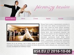Miniaturka pierwszytaniec-radom.pl (Szkoła tańca Radom - taniec weselny, nauka tańca)