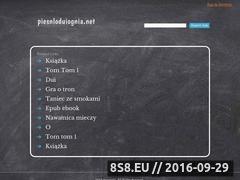 """Miniaturka piesnloduiognia.net (Fanpage """"Pieśni Lodu i Ognia"""")"""