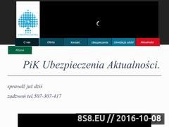 Miniaturka domeny pikubezpieczenia.pl
