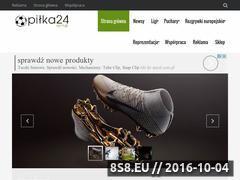 Miniaturka domeny www.pilka24.com.pl