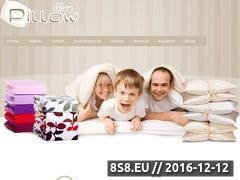 Miniaturka domeny www.pillow.sklep.pl