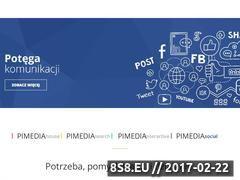 Miniaturka domeny www.pimedia.pl