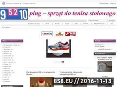 Miniaturka ping.home.pl (Klej do tenisa stołowego)