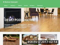 Miniaturka domeny www.piomar-drewno.pl