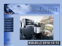 Miniaturka domeny www.pionierdruk.pl