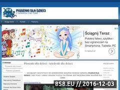 Miniaturka www.piosenkidzieciom.pl (Piosenki dla dzieci i Teledyski dla dzieci  )