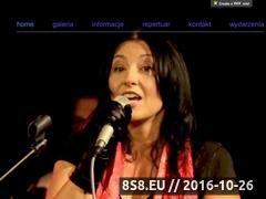 Miniaturka www.piosenkifrancuskie.pl (Koncert Piosenki Francuskie Recital Joanna Wolna - znane przeboje)