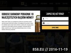 Miniaturka piotrpytel.pl (Szkolenia wystąpienia publiczne live coaching)
