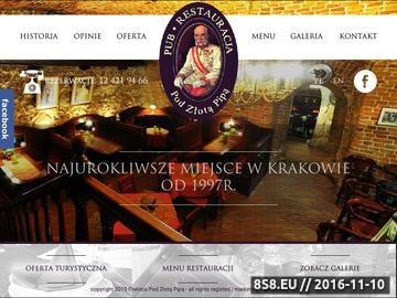 Zrzut strony Restauracja Kraków