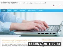 Miniaturka domeny pisanie-na-zlecenie.com.pl