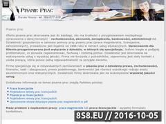 Miniaturka domeny www.pisanie-prac.info.pl