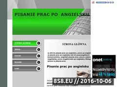 Miniaturka domeny pisaniepracpoangielsku.republika.pl