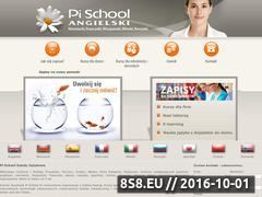 Miniaturka pischool.pl (Szkoła pischool.pl)