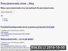 Miniaturka domeny piskadlo.pl