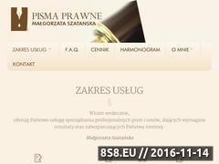 Miniaturka domeny www.pismaprawne.pl