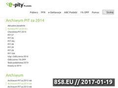 Miniaturka domeny www.pit-2014.pl