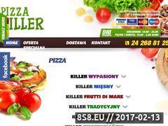 Miniaturka domeny pizzakiller.pl