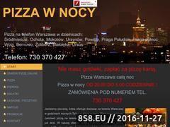 Miniaturka domeny pizzawnocy.com