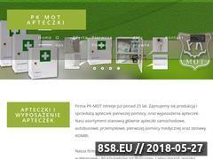 Miniaturka pk-mot.pl (Apteczki i wyposażenie apteczek)