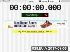 Miniaturka domeny pl.e-stopwatch.eu