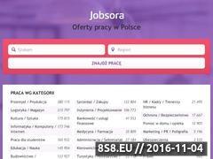 Miniaturka pl.jobsora.com (Oferty pracy)