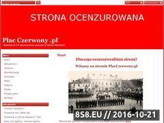 Miniaturka domeny placczerwony.pl