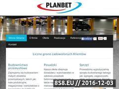 Miniaturka Posadzki przemysłowe Gdańsk oraz wylewki betonowe (planbet.pl)
