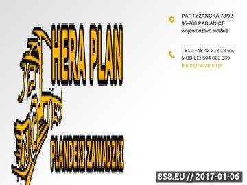 Zrzut strony Reklama Pabianice