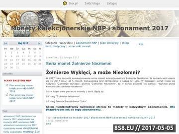 Zrzut strony Plan emisyjny monet 2 zł nordic gold z aktualizacjami i komentarzami