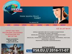 Miniaturka domeny www.planet.edu.pl