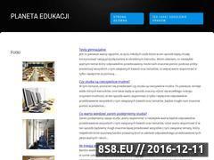 Miniaturka domeny www.planetaedukacji.edu.pl