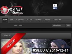 Miniaturka domeny planetgames.cba.pl