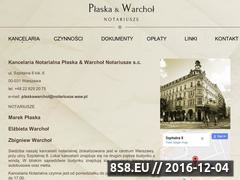 Miniaturka domeny plaskawarchol.pl