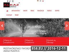 Miniaturka domeny www.plastics.alkaz.info