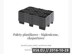 Miniaturka Plastikowe produkty logistyczne (plastikowe-palety.com.pl)
