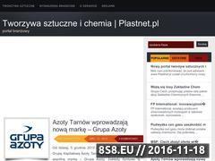 Miniaturka domeny www.plastnet.pl