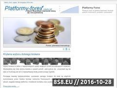 Miniaturka domeny www.platformy-forex.com.pl