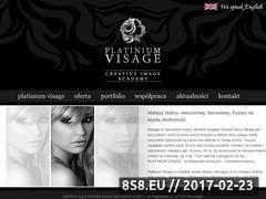 Miniaturka domeny www.platiniumvisage.pl