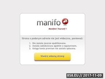 Zrzut strony Polskie Centrum Ostrzegania