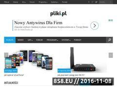 Miniaturka domeny www.pliki.pl