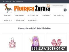 Miniaturka domeny plonaca-zyrafa.pl