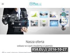 Miniaturka domeny plus-net.pl